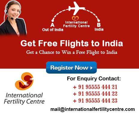 Free-flight ticket to india
