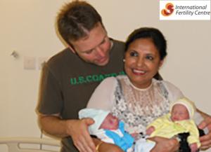 Martin International Patient with IVF Specialist Dr. Rita Bakshi